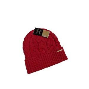 MICHAEL Michael Kors Patchwork Cable-Knit Cuff Hat